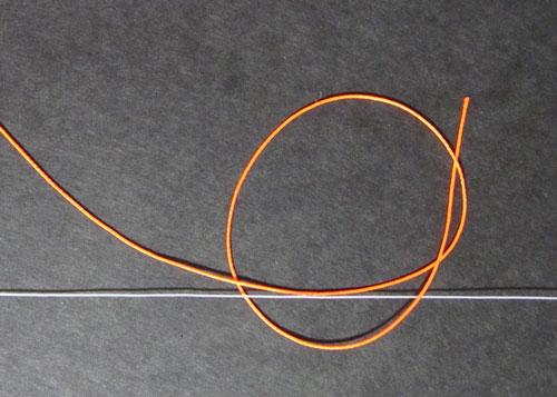 ウキ止めの結び方2
