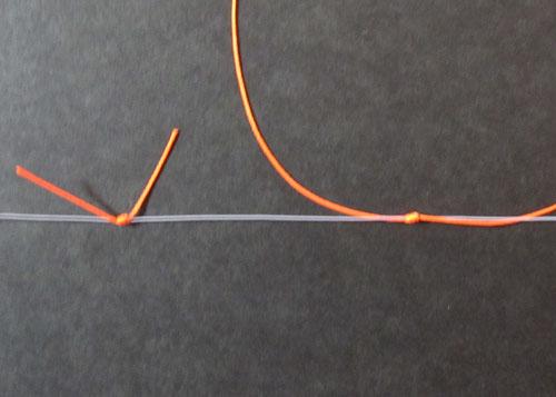 ウキ止めの結び方4