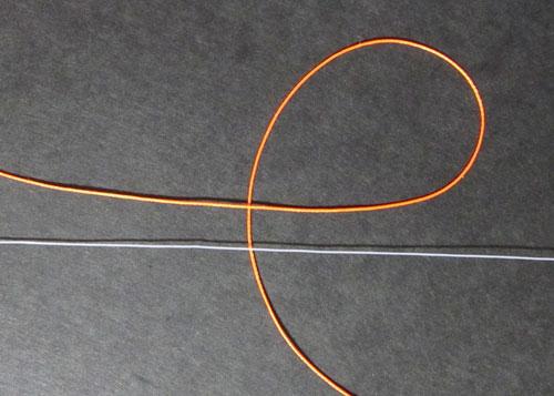 ウキ止めの結び方1